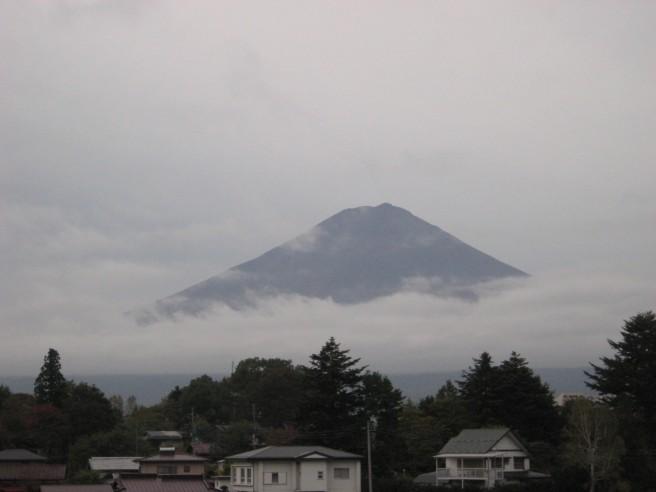 10月21日富士山