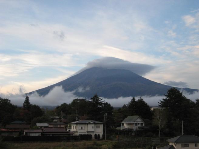 10月23日富士山