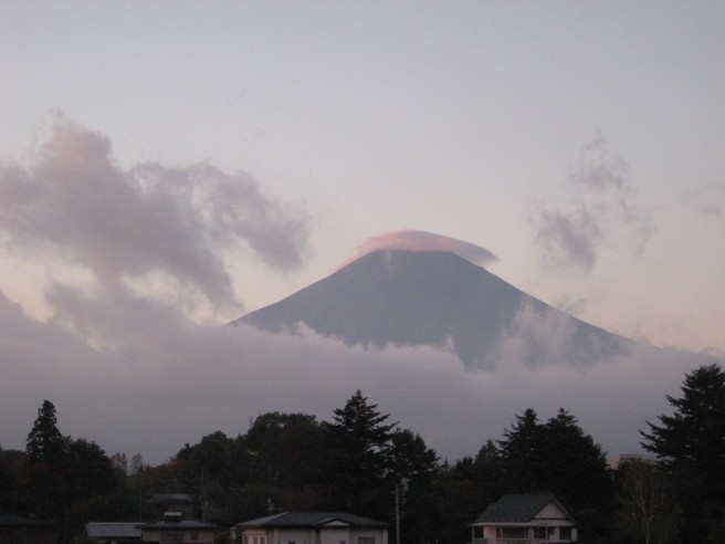 10月25日富士山