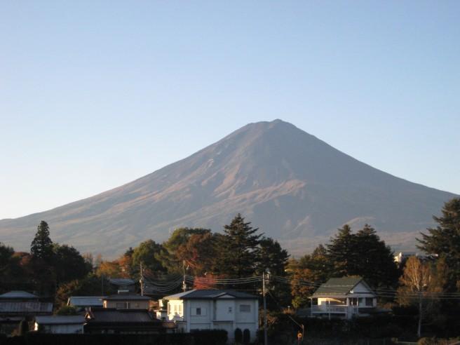 10月27日富士山