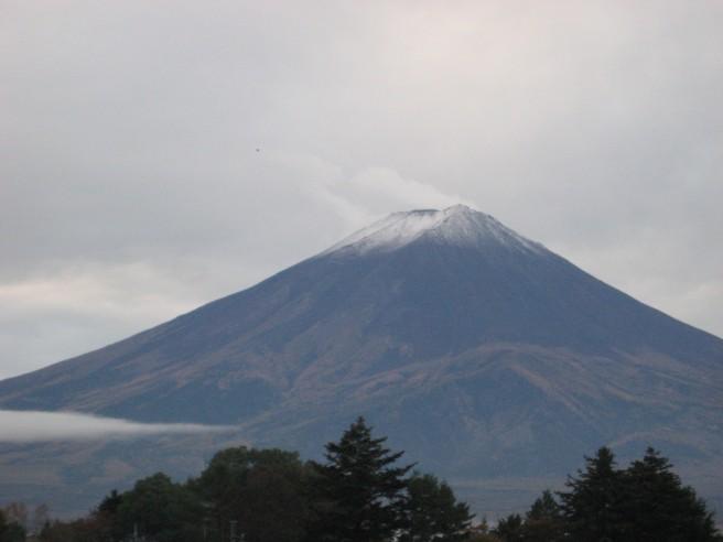 10月31日富士山