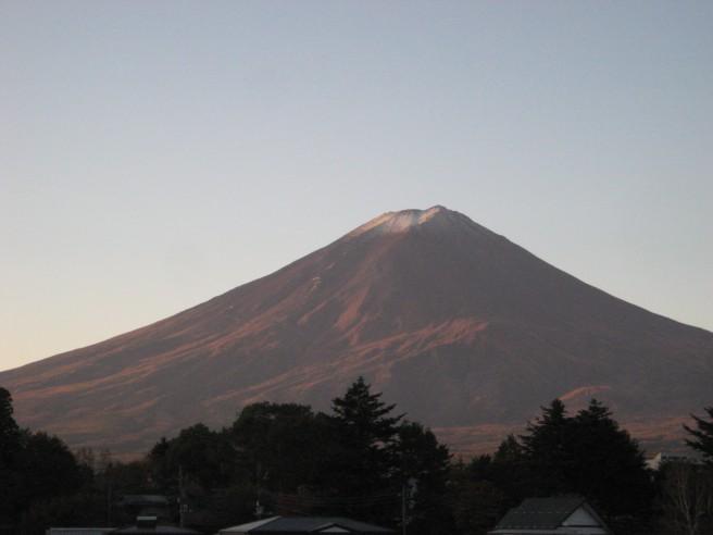 11月1日富士山