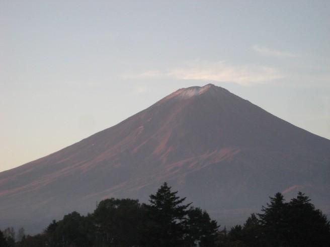 11月2日富士山