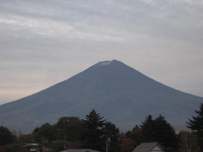 11月3日富士山