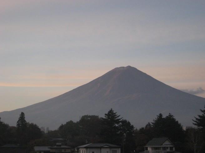 11月5日富士山
