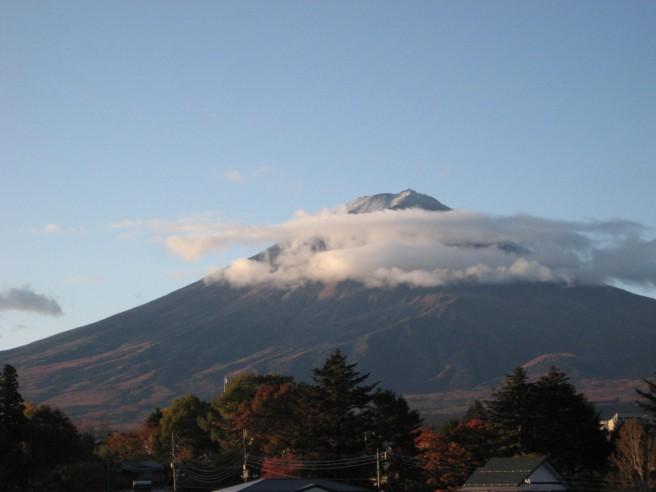 11月7日富士山
