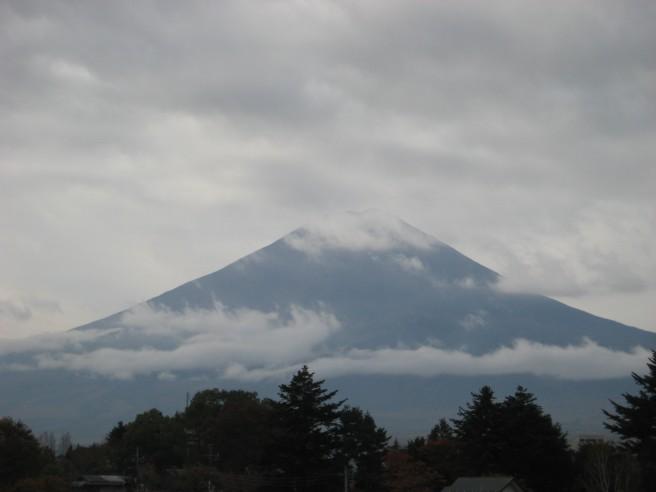 11月9日富士山