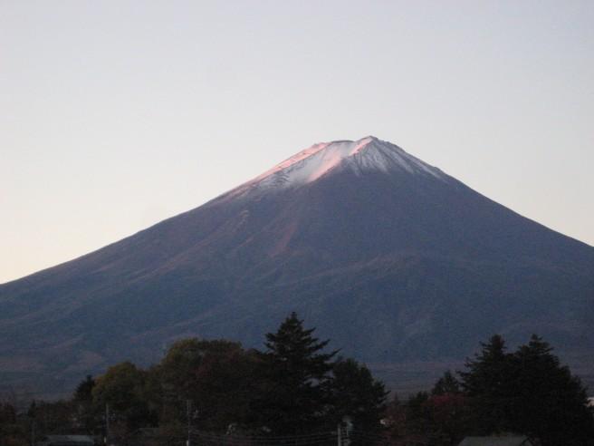 11月16日富士山