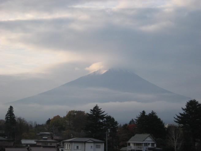 11月18日富士山