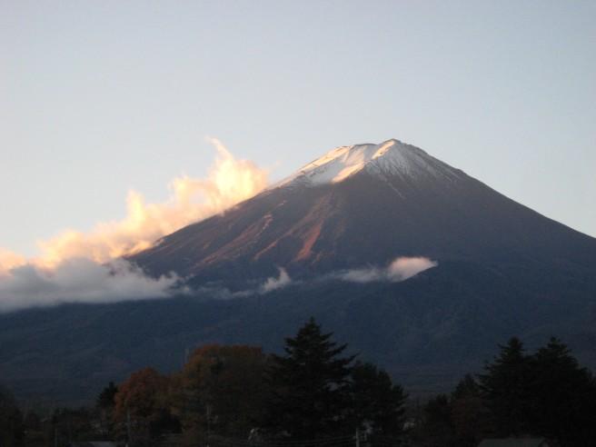 11月21日富士山