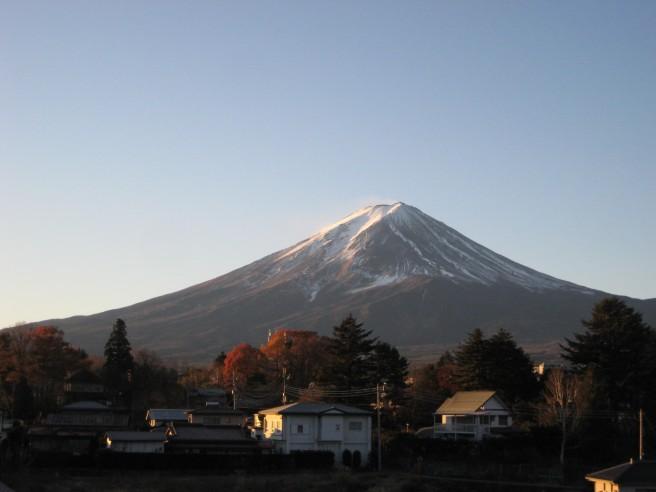 11月25日富士山