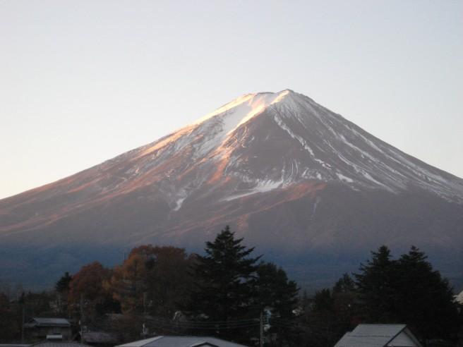 11月26日富士山
