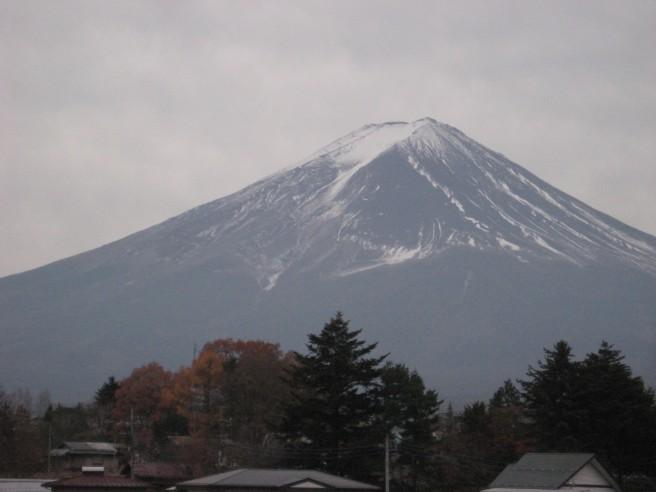 11月28日富士山