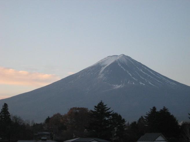 11月30日富士山