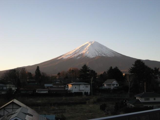 12月4日富士山