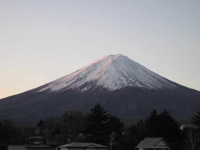 12月5日富士山