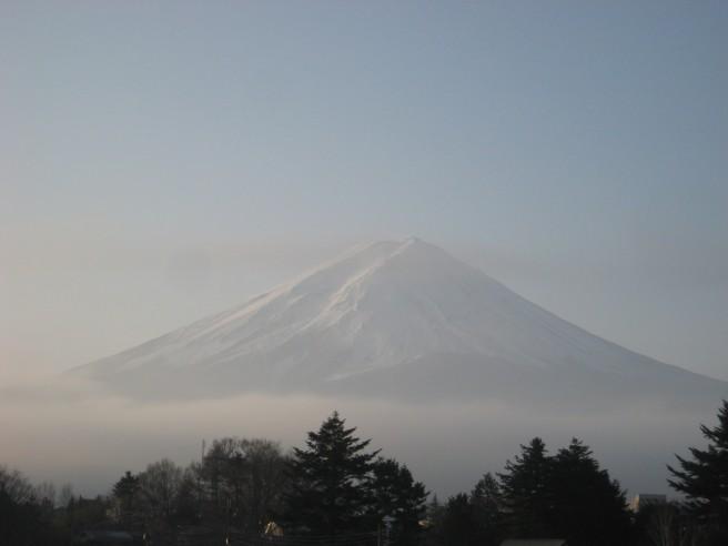 12月7日富士山