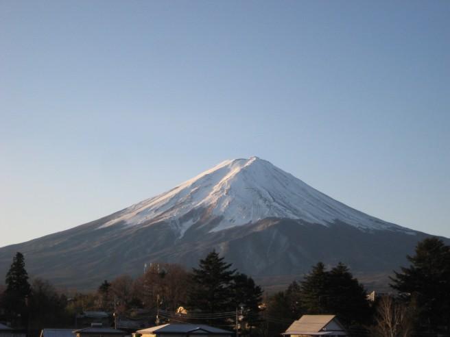 12月10日富士山
