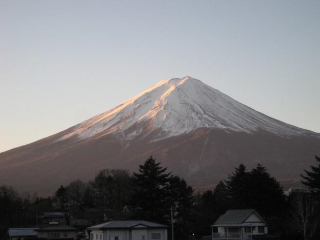 12月11日富士山