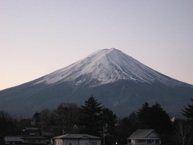 12月13日富士山