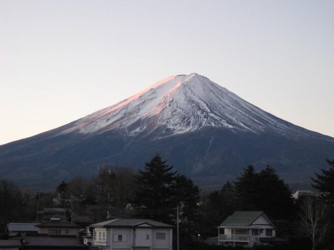 12月18日富士山