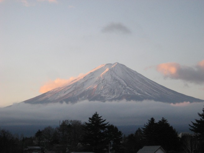 12月19日富士山