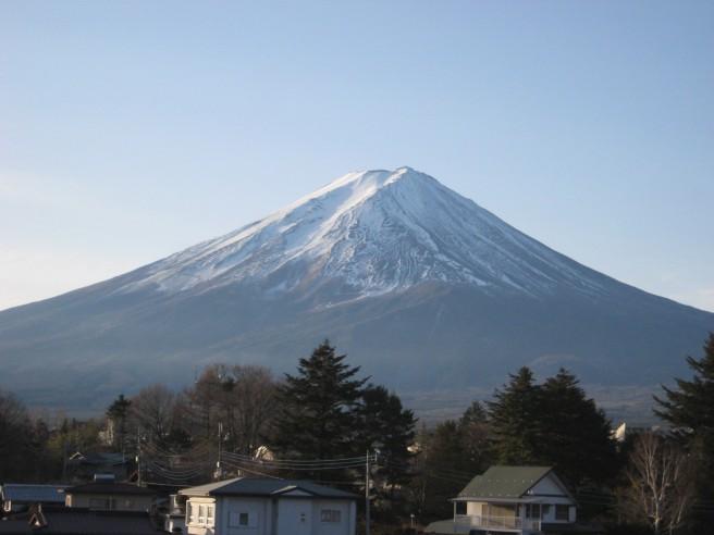 12月24日富士山