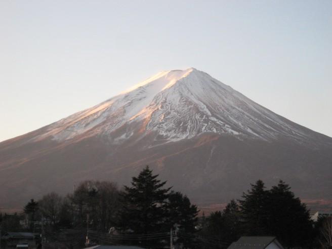 12月25日富士山