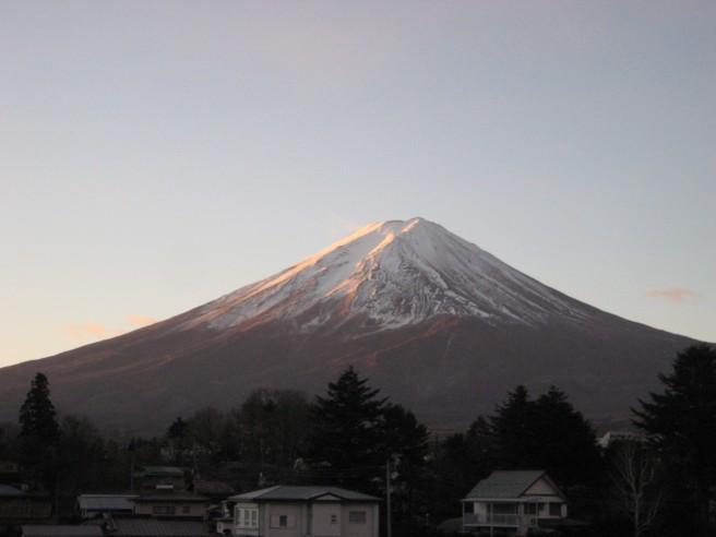 12月26日富士山