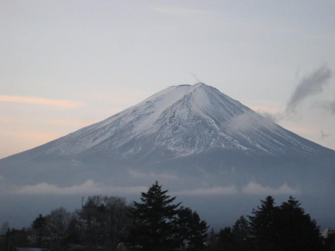 2012年1月1日富士山