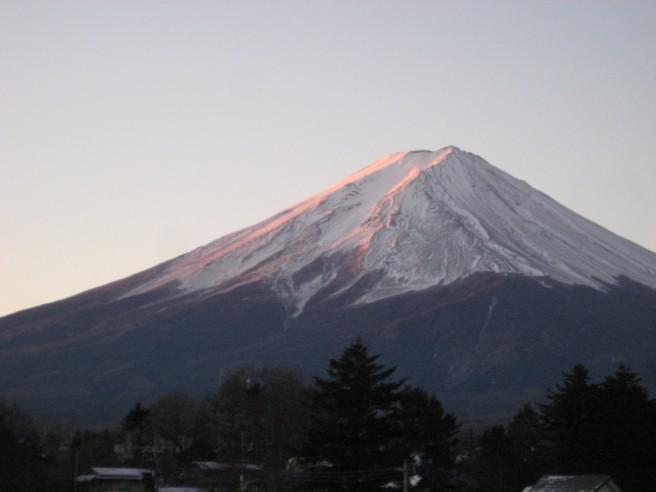 1月5日富士山