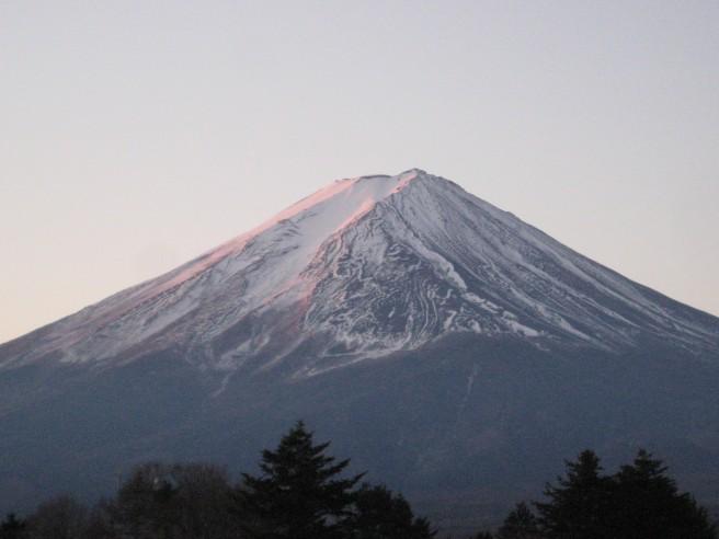 1月8日富士山