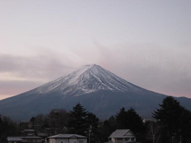 1月10日富士山