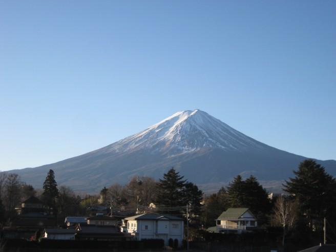 1月12日富士山