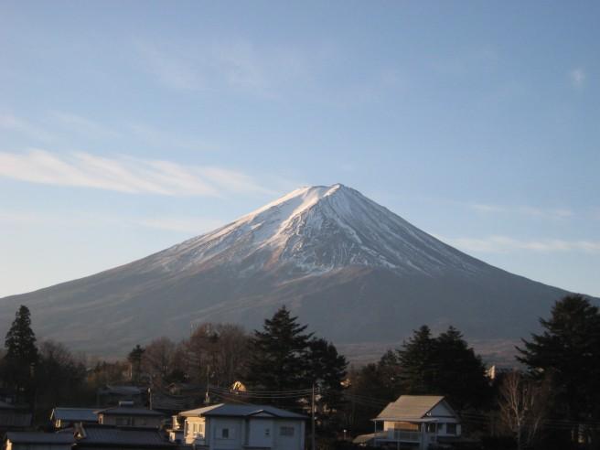 1月13日富士山