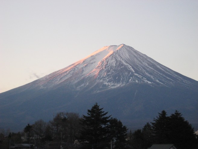 1月14日富士山