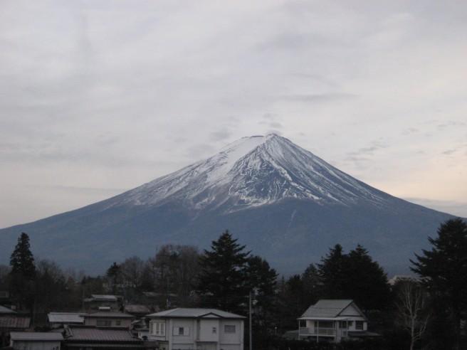 1月15日富士山状況