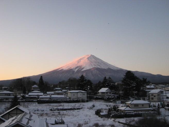1月26日富士山