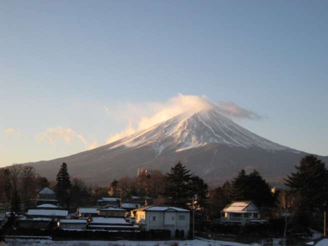 2月2日富士山