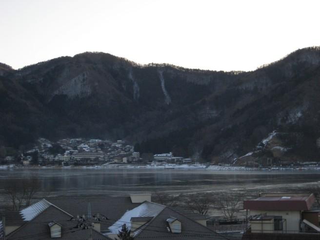 2月4日河口湖結氷