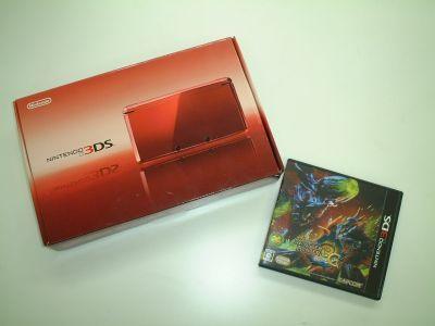 ニンテンドー3DS+モンハン3G