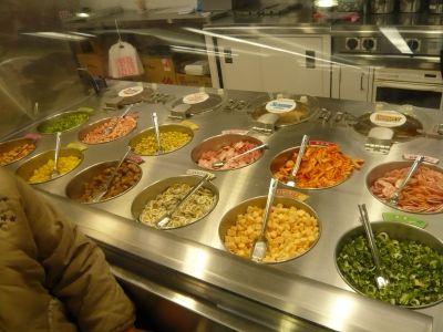 スープ・グ材を選ぶ工程