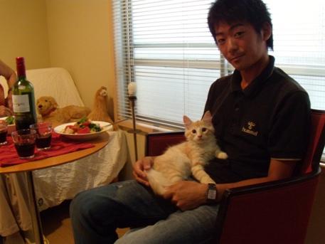 2010.8.29  祖母と弟来る3