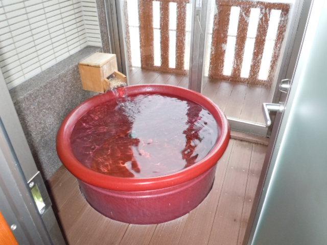 鳥取旅行 室内風呂1