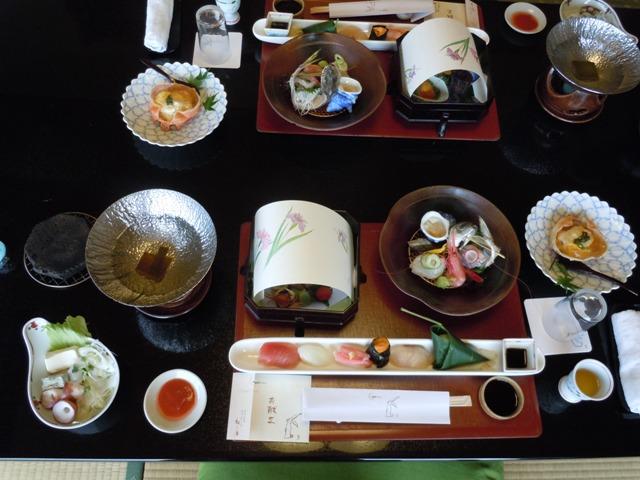 鳥取旅行 夕食1