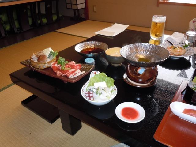鳥取旅行 夕食2