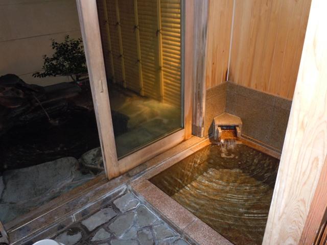 鳥取旅行 貸切風呂2
