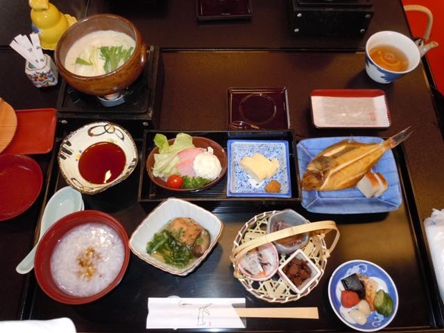 鳥取旅行 朝食