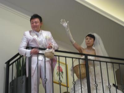 友人結婚式☆