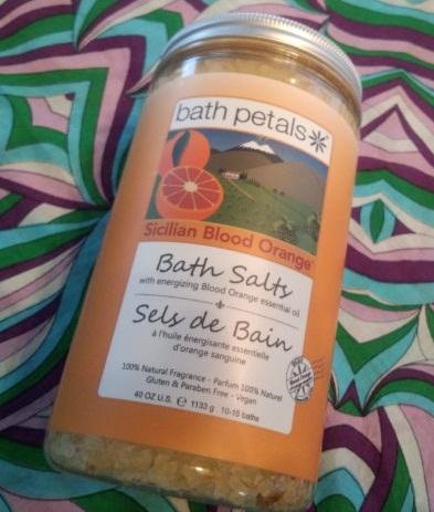 Bath Petalsのシシリアンブラッドオレンジバスソルト